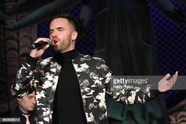 Recording artist Brain Justin Crum performs at Lambda Legal's 25th Anniversary West Coast Liberty Awards at TAO at the Dream Hotel on June 7 2017 in...