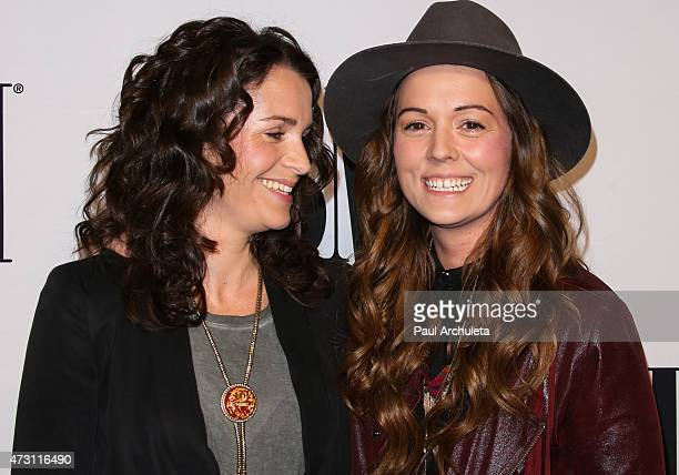 Recording Artist Brandi Carlile and Catherine Carlile attend the 63rd annual BMI Pop Awards at the Regent Beverly Wilshire Hotel on May 12 2015 in...