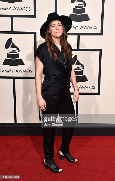 Recording artist Brandi Carlile attends The 58th GRAMMY Awards at Staples Center on February 15 2016 in Los Angeles California