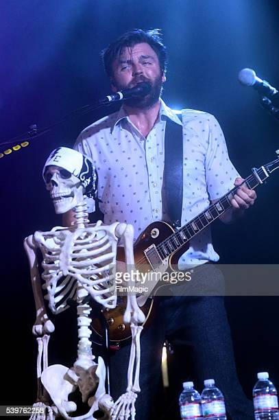 Recording artist Brandon Walters of Lord Huron performs onstage at This Tent during Day 4 of the 2016 Bonnaroo Arts And Music Festival on June 12...