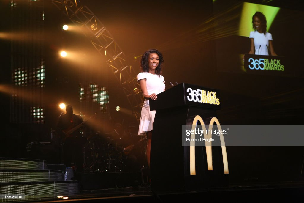 Recording artist Brandy attends the 2013 365 Black Awards at the Ernest N. Morial Convention Center on July 6, 2013 in New Orleans, Louisiana.