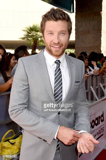 Recording artist Brett Eldredge attends the 2015 Billboard Music Awards at MGM Grand Garden Arena on May 17 2015 in Las Vegas Nevada