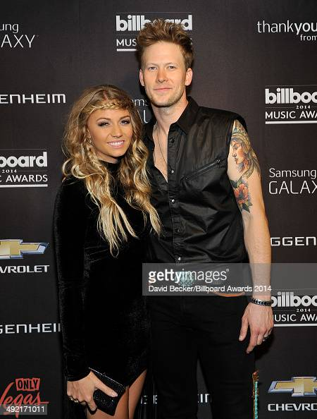 Recording artist Brian Kelley of Florida Georgia Line and Brittney Cole attend the Official AfterParty for the 2014 Billboard Music Awards at The...