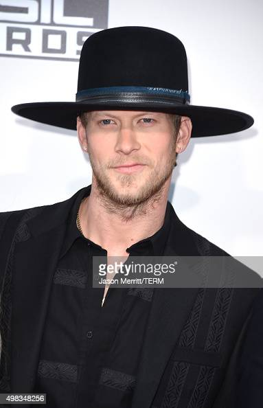 Recording artist Brian Kelley of Florida Georgia Line attends the 2015 American Music Awards at Microsoft Theater on November 22 2015 in Los Angeles...