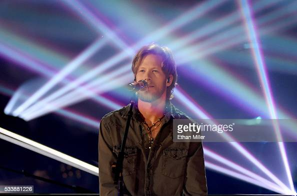 Recording artist Brian Kelley of Florida Georgia Line performs during the 2016 American Country Countdown Awards at The Forum on May 1 2016 in...