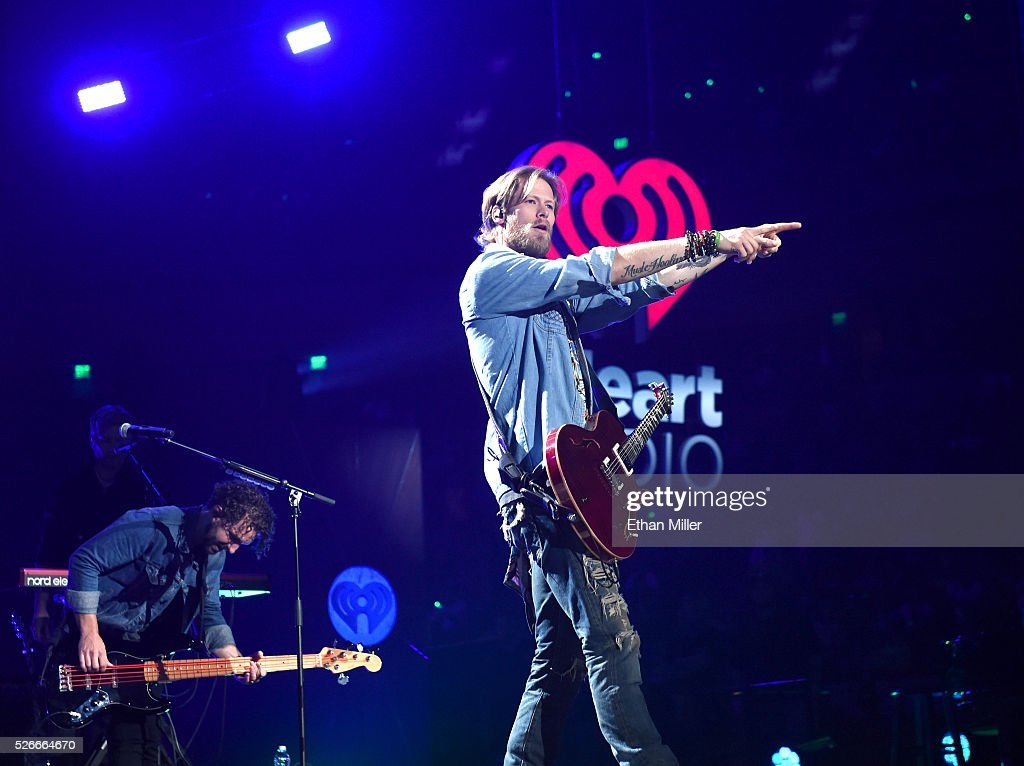 Brian Kelley of Florida Georgia Line performs onstage during the 2016 iHeartCountry Festival at The Frank Erwin Center on April 30, 2016 in Austin, Texas.