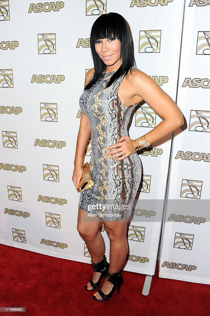 Recording artist <a gi-track='captionPersonalityLinkClicked' href=/galleries/search?phrase=Bridget+Kelly+-+Musician&family=editorial&specificpeople=10815047 ng-click='$event.stopPropagation()'>Bridget Kelly</a> arrives at ASCAP's 26th Annual Rhythm & Soul Music Awards at The Beverly Hilton Hotel on June 27, 2013 in Beverly Hills, California.