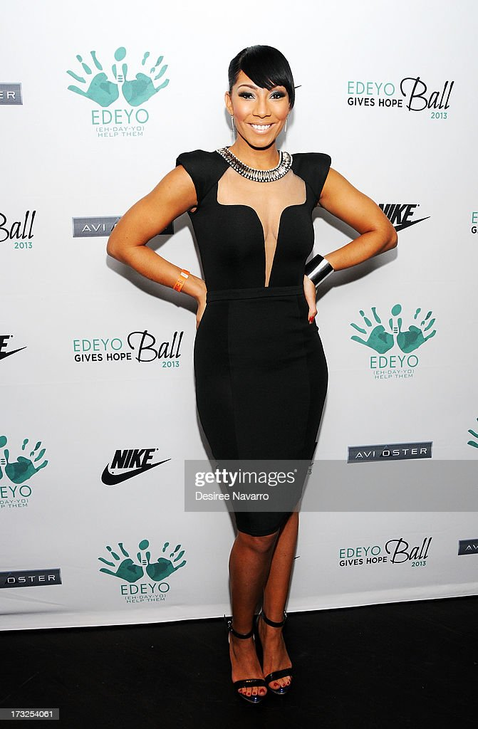 Recording artist Bridget Kelly attends the 2013 Edeyo Gives Hope Ball at Highline Ballroom on July 10, 2013 in New York City.