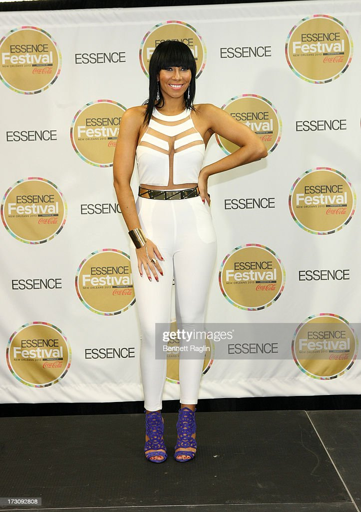 Recording artist Bridget Kelly attends the 2013 Essence Festival at the Mercedes-Benz Superdome on July 6, 2013 in New Orleans, Louisiana.