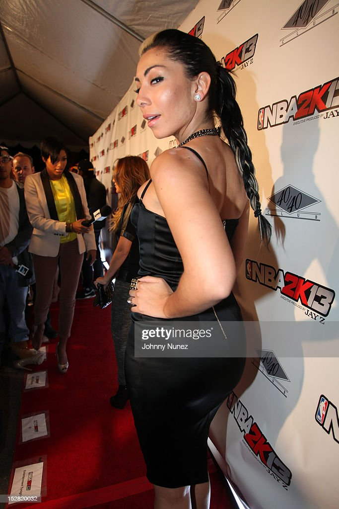 Recording artist Bridget Kelly attends The Premiere Of NBA 2K13 With Cover Athletes And NBA Superstars at 40 / 40 Club on September 26, 2012 in New York City.