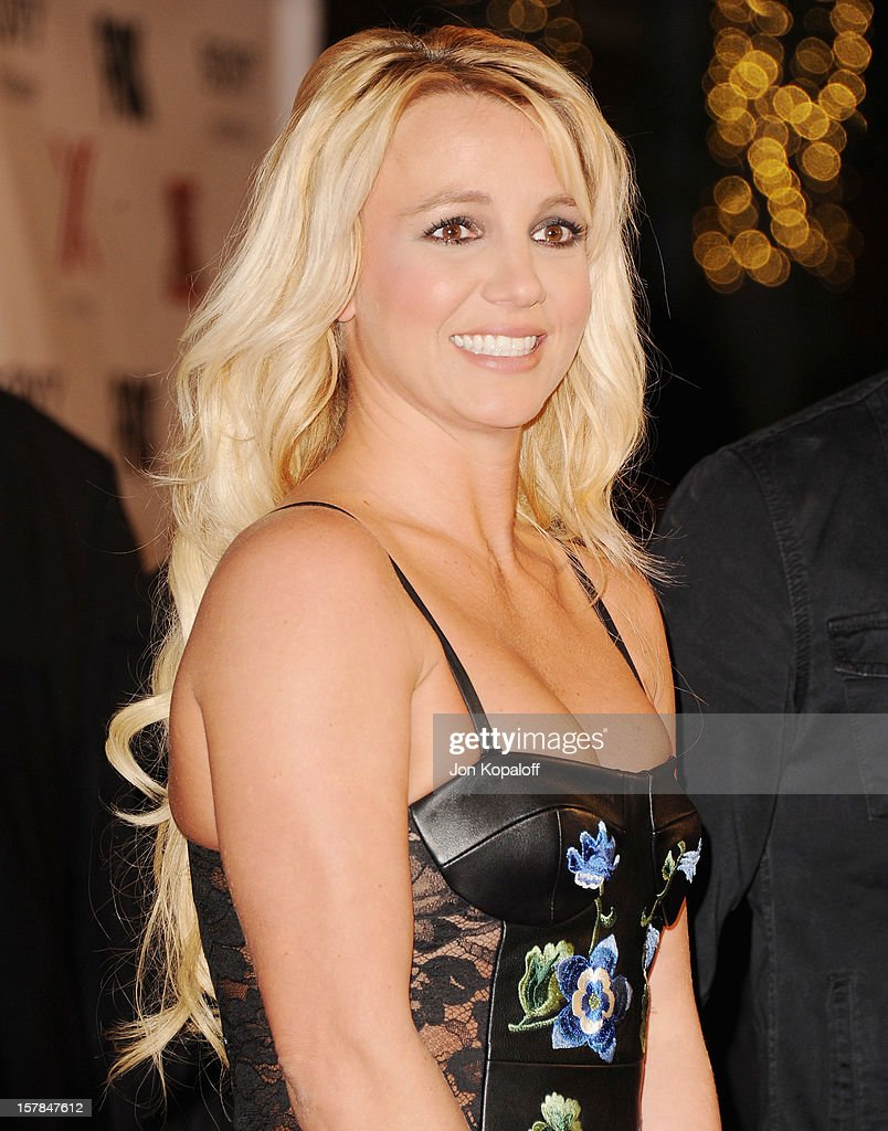 Recording artist <a gi-track='captionPersonalityLinkClicked' href=/galleries/search?phrase=Britney+Spears&family=editorial&specificpeople=156415 ng-click='$event.stopPropagation()'>Britney Spears</a> arrives at The X-Factor Viewing Party at on December 6, 2012 in Los Angeles, California.