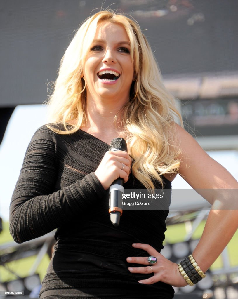 Recording artist <a gi-track='captionPersonalityLinkClicked' href=/galleries/search?phrase=Britney+Spears&family=editorial&specificpeople=156415 ng-click='$event.stopPropagation()'>Britney Spears</a> at 102.7 KIIS FM's Wango Tango at The Home Depot Center on May 11, 2013 in Carson, California.