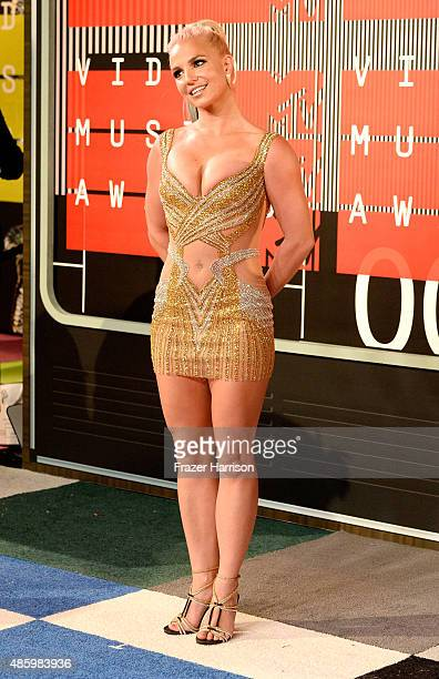 Recording artist Britney Spears attends the 2015 MTV Video Music Awards at Microsoft Theater on August 30 2015 in Los Angeles California