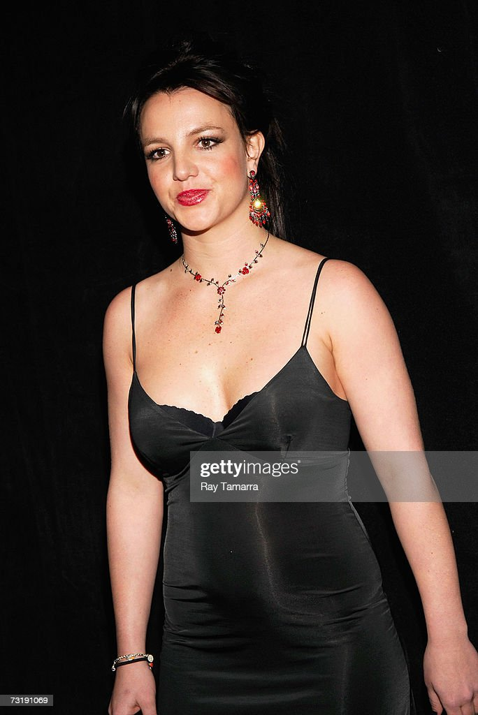 Recording artist <a gi-track='captionPersonalityLinkClicked' href=/galleries/search?phrase=Britney+Spears&family=editorial&specificpeople=156415 ng-click='$event.stopPropagation()'>Britney Spears</a> attends the Baby Phat By Kimora Lee fashion show at the Roseland Ballroom during Mercedes-Benz Fashion Week February 02, 2007 in New York City.