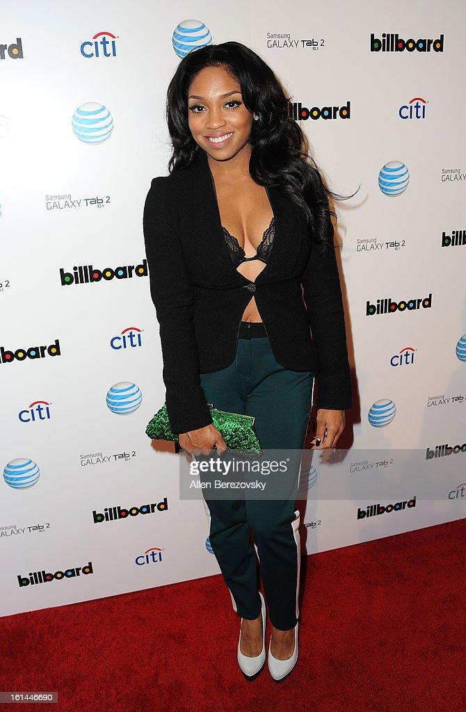 Recording artist Brooke Valentine attends the Billboard GRAMMY after party presented by Citi at The London Hotel on February 10, 2013 in West Hollywood, California.