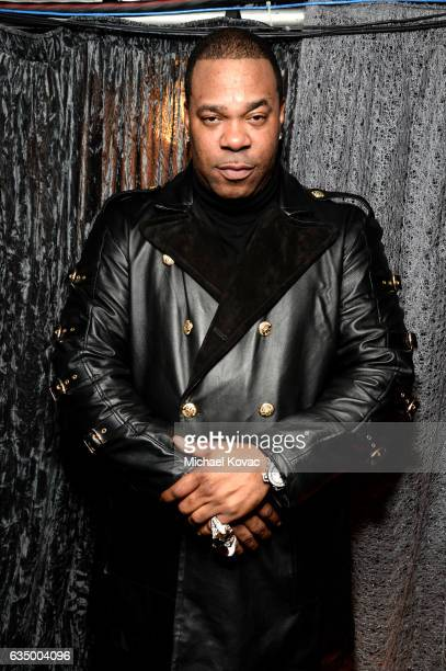Recording artist Busta Rhymes attends The 59th GRAMMY Awards at STAPLES Center on February 12 2017 in Los Angeles California