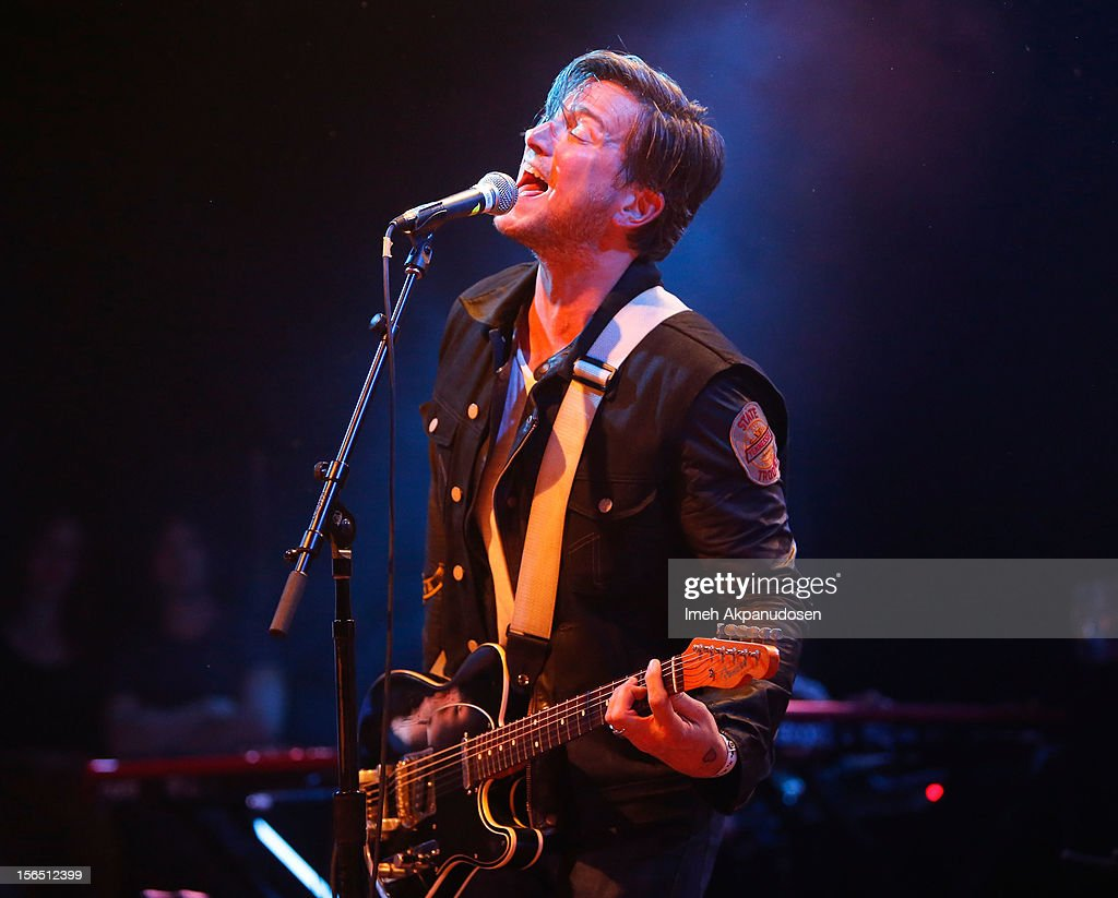 Recording artist <a gi-track='captionPersonalityLinkClicked' href=/galleries/search?phrase=Butch+Walker&family=editorial&specificpeople=2219190 ng-click='$event.stopPropagation()'>Butch Walker</a> performs onstage singing 'Even The Losers' at the first ever Jameson Petty Fest West at El Rey Theatre on November 15, 2012 in Los Angeles, California.