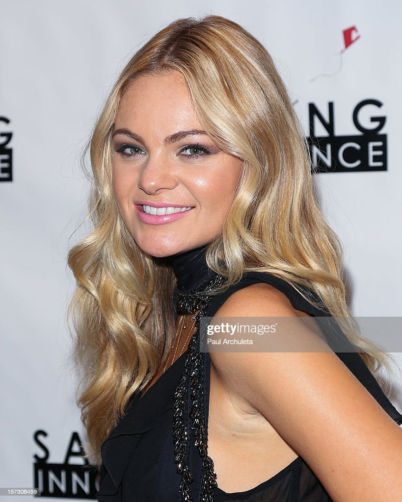 Recording Artist Caitlin Crosby attends the 'Hope...Pass It On' Gala at the Sofitel Hotel on December 1, 2012 in Los Angeles, California.