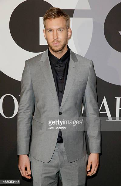 Recording artist Calvin Harris attends GQ and Giorgio Armani Grammys After Party at Hollywood Athletic Club on February 8 2015 in Hollywood California