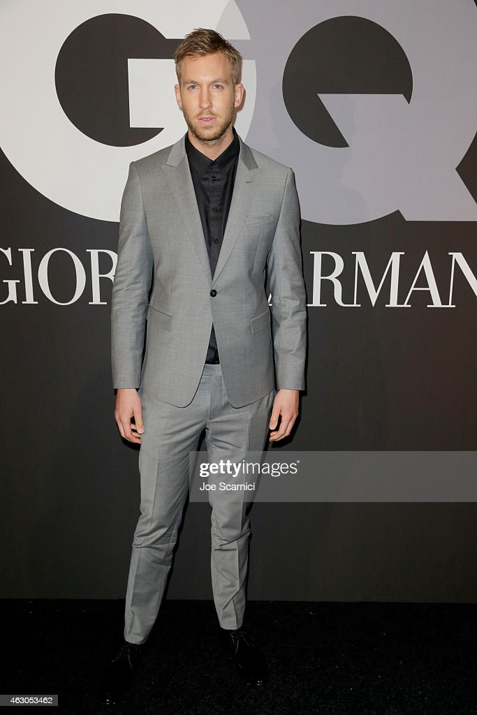 Recording artist <a gi-track='captionPersonalityLinkClicked' href=/galleries/search?phrase=Calvin+Harris&family=editorial&specificpeople=4412722 ng-click='$event.stopPropagation()'>Calvin Harris</a> attends GQ and Giorgio Armani Grammys After Party at Hollywood Athletic Club on February 8, 2015 in Hollywood, California.