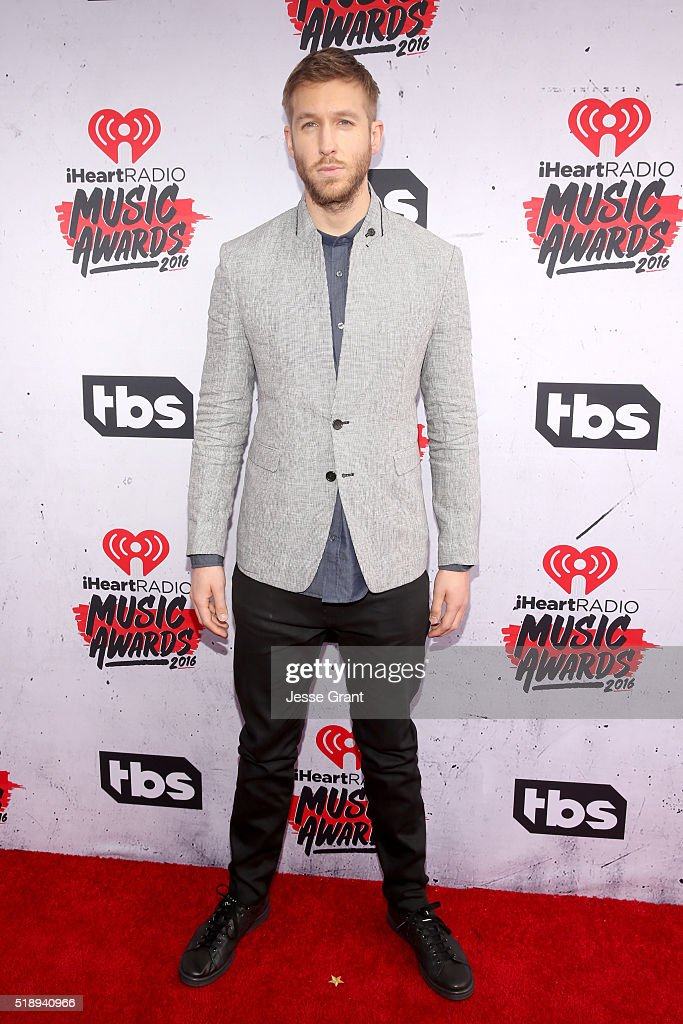 Recording artist Calvin Harris attends the iHeartRadio Music Awards at The Forum on April 3 2016 in Inglewood California