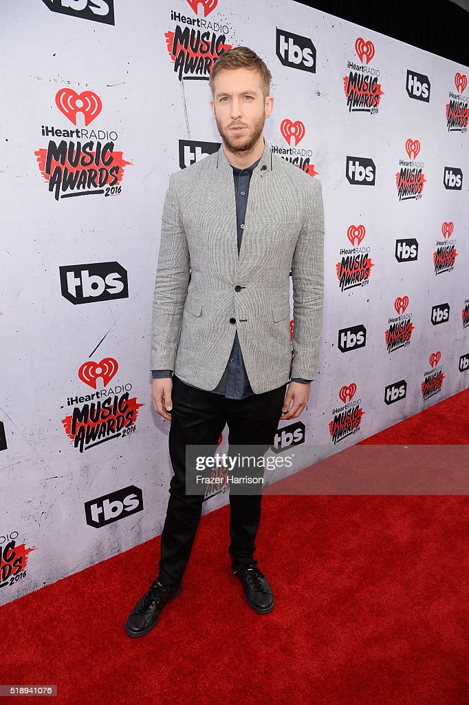 Recording artist Calvin Harris attends the iHeartRadio Music Awards at The Forum on April 3, 2016 in Inglewood, California.