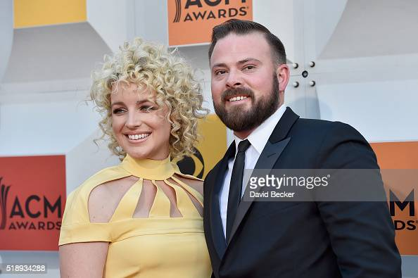 Recording artist Cam and Adam Weaver attend the 51st Academy of Country Music Awards at MGM Grand Garden Arena on April 3 2016 in Las Vegas Nevada