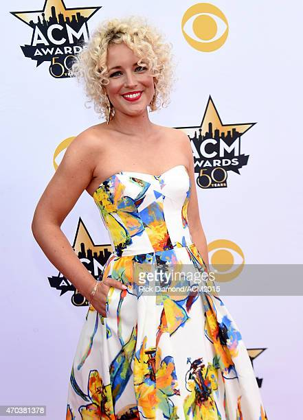 Recording artist Cam attends the 50th Academy of Country Music Awards at ATT Stadium on April 19 2015 in Arlington Texas