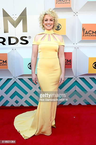 Recording artist Cam attends the 51st Academy of Country Music Awards at MGM Grand Garden Arena on April 3 2016 in Las Vegas Nevada