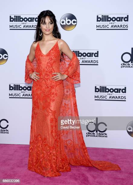 Recording artist Camila Cabello poses in the press room during the 2017 Billboard Music Awards at TMobile Arena on May 21 2017 in Las Vegas Nevada