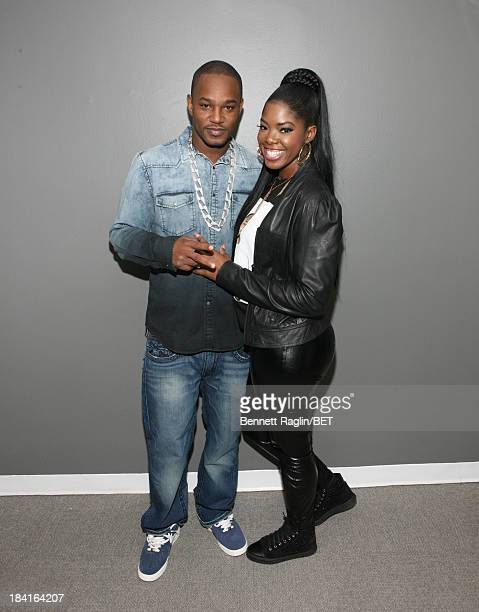 Recording artist Cam'ron and Juju visit 106 Park at 106 Park studio on October 10 2013 in New York City