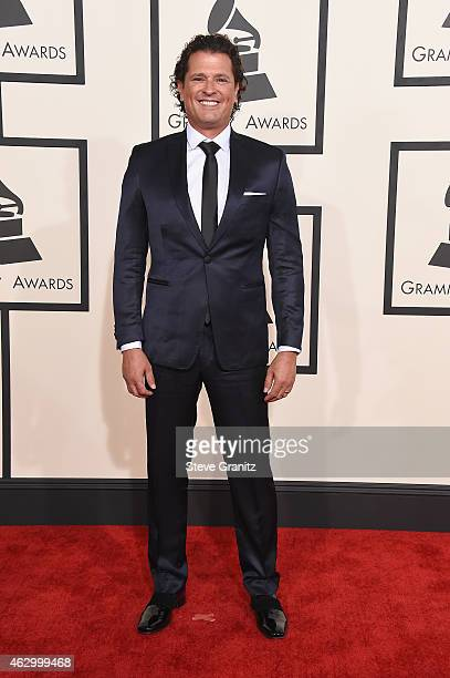Recording artist Carlos Vives attends The 57th Annual GRAMMY Awards at the STAPLES Center on February 8 2015 in Los Angeles California