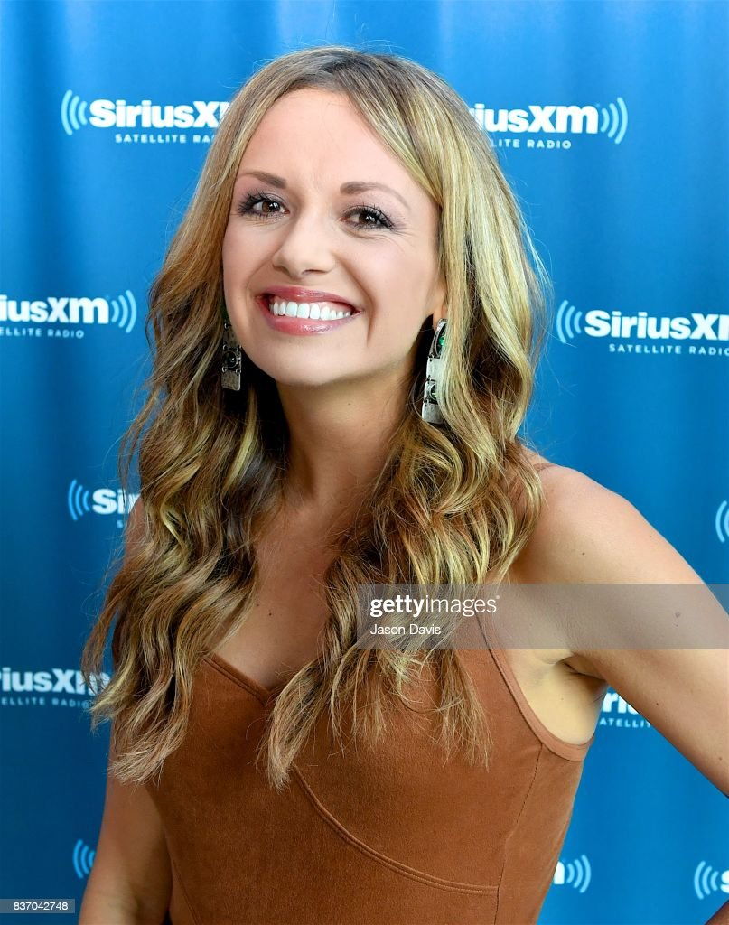 Recording Artist Carly Pearce arrives at the SiriusXM Nashville Studios to speak with SiriusXM Host Storme Warren and announce her debut album 'Every Little Thing' at SiriusXM Studios on August 22, 2017 in Nashville, Tennessee.