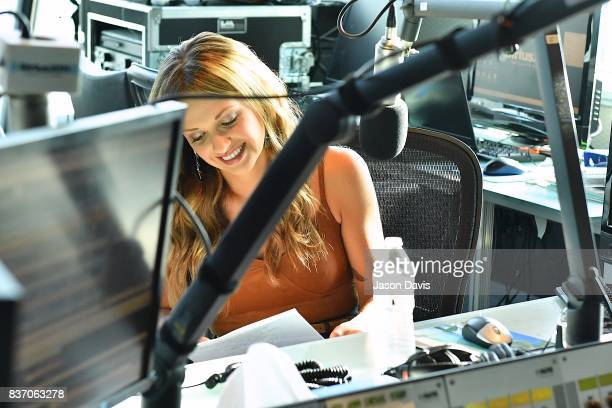 Recording Artist Carly Pearce visits SiriusXM Host Storme Warren at the SiriusXM Nashville Studios to announce her debut album 'Every Little Thing'...