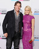 Recording artist Carrie Underwood and husband Mike Fisher arrive at The 40th American Music Awards at Nokia Theatre LA Live on November 18 2012 in...