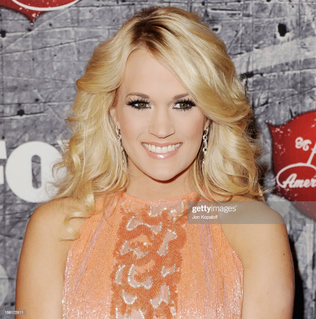 Recording artist <a gi-track='captionPersonalityLinkClicked' href=/galleries/search?phrase=Carrie+Underwood&family=editorial&specificpeople=204483 ng-click='$event.stopPropagation()'>Carrie Underwood</a> arrives at the 2012 American Country Awards at the Mandalay Bay on December 10, 2012 in Las Vegas, Nevada.