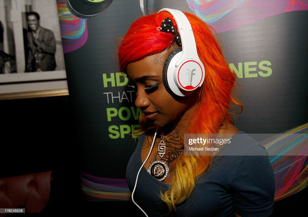 Recording artist Carter attends the Sean Kingston 'Back 2 Life' Listening Session Presented By Flips Audio at Bootsy Bellows on August 27, 2013 in West Hollywood, California.