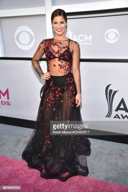 Recording artist Cassadee Pope attends the 52nd Academy Of Country Music Awards at Toshiba Plaza on April 2 2017 in Las Vegas Nevada