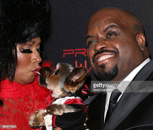 Recording artist Cee Lo Green attends the Primary Wave 9th Annual PreGrammy Party at RivaBella on February 7 2015 in West Hollywood California