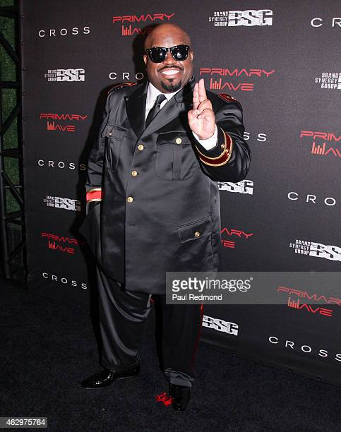 Recording artist CeeLo Green attends Primary Wave 9th Annual PreGrammy Prty at RivaBella on February 7 2015 in West Hollywood California