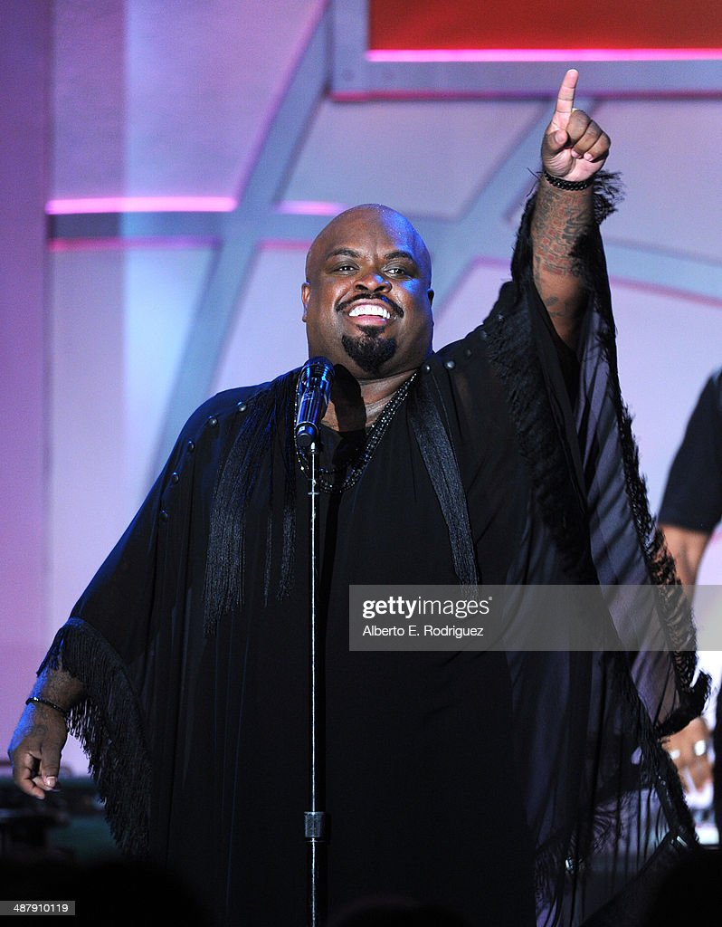 Recording artist CeeLo Green performs onstage at the 21st annual Race to Erase MS at the Hyatt Regency Century Plaza on May 2, 2014 in Century City, California.