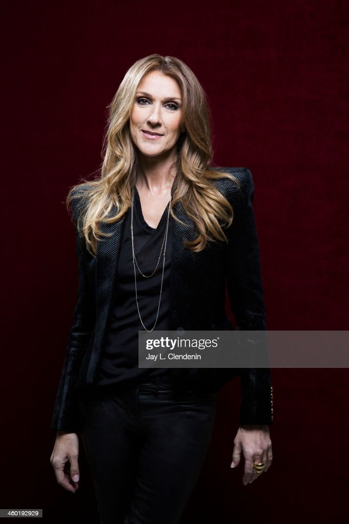 Recording artist Celine Dion is photographed for Los Angeles Times on December 14, 2013 in Studio City, California. PUBLISHED IMAGE.