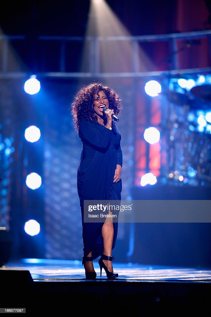 Recording artist Chaka Kahn performs during the 17th annual Keep Memory Alive 'Power of Love Gala' benefit for the Cleveland Clinic Lou Ruvo Center for Brain Health celebrating the 80th birthdays of Quincy Jones and Sir Michael Caine on April 13, 2013 in Las Vegas, Nevada.