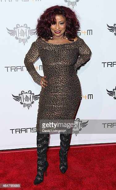 Recording artist Chaka Khan attends the 3rd Annual TRANS4M Concert benefitting the iamangel Foundation hosted by william at Avalon on January 23 2014...
