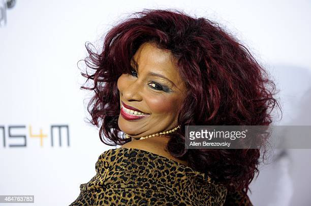 Recording artist Chaka Khan attends the william hosted third annual TRANS4M concert benefitting the iamangel Foundation at Avalon on January 23 2014...