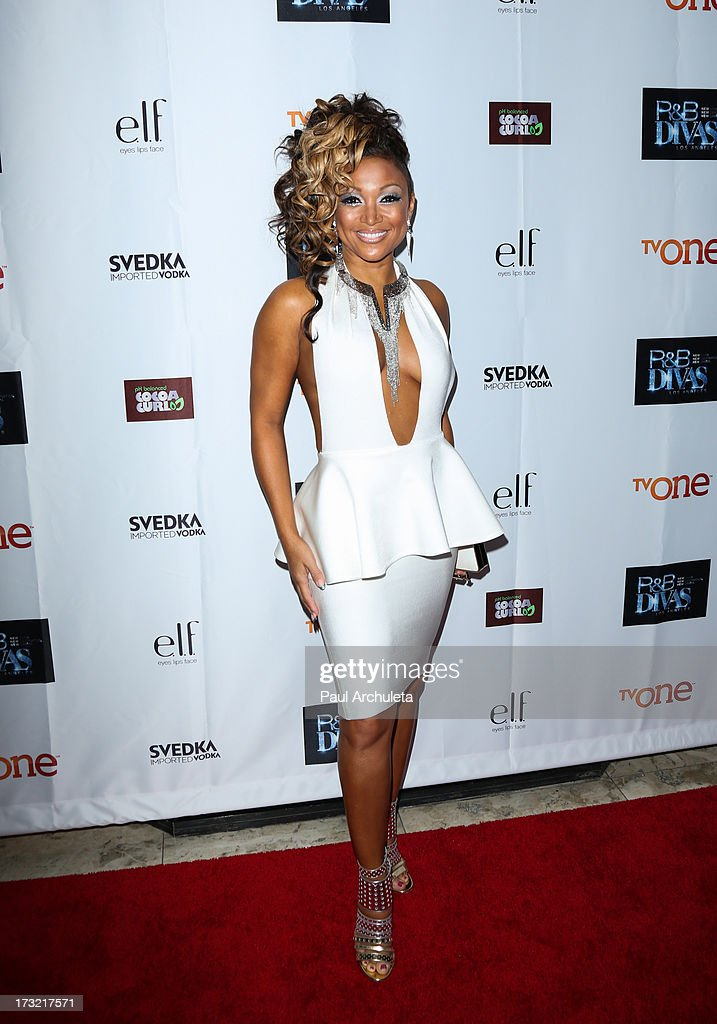Recording Artist Chante Moore attends TV One's new series 'R&B Divas LA' launch party at The London Hotel on July 9, 2013 in West Hollywood, California.
