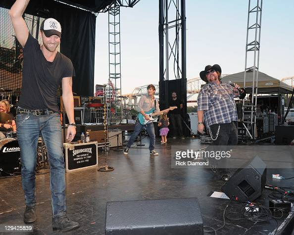 Recording Artist Charles Kelley of Lady Antebellum joins Recording Artist Colt Ford during Dierks Bentley's 6th annual Miles Music for Kids at...