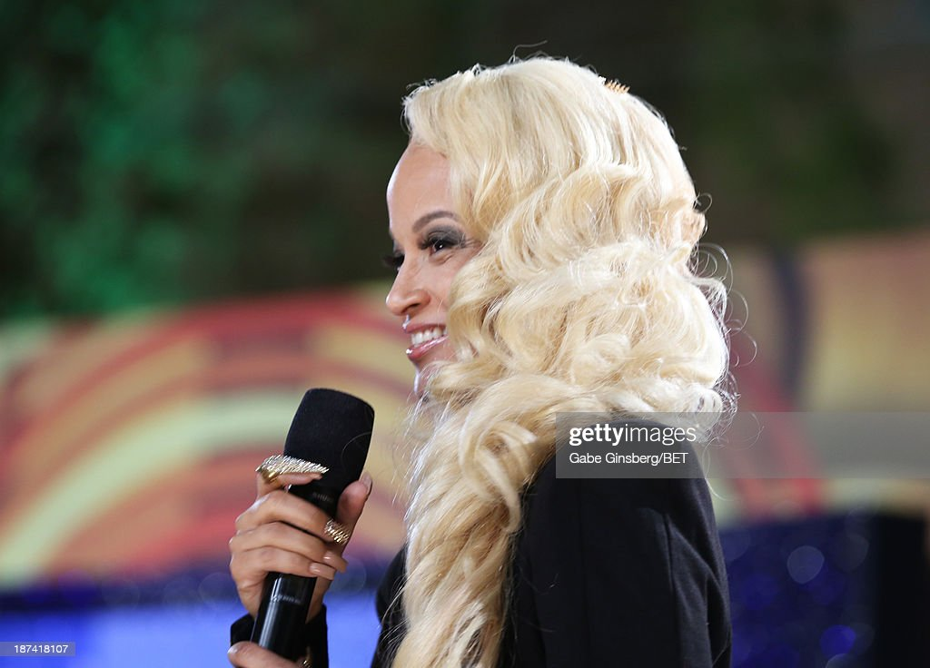 Recording Artist Charli Baltimore attends the Soul Train Awards 2013 at the Orleans Arena on November 8, 2013 in Las Vegas, Nevada.
