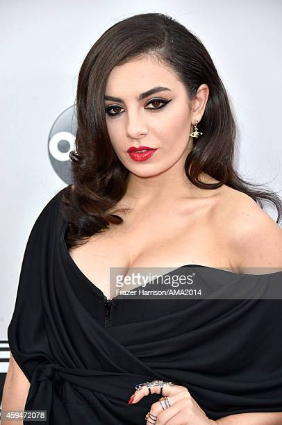 Recording artist Charli XCX attends the 2014 American Music Awards at Nokia Theatre LA Live on November 23 2014 in Los Angeles California