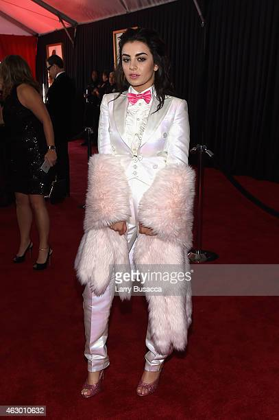 Recording Artist Charli XCX attends The 57th Annual GRAMMY Awards at the STAPLES Center on February 8 2015 in Los Angeles California